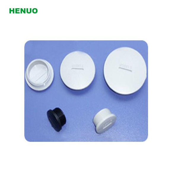 Nylon Plastic Stop Plug End Cap with O-Ring Black Color