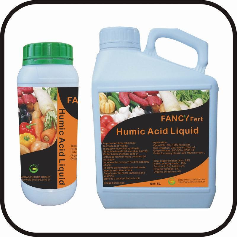 Humic Fulvic Acid Organic Liquid Fertilizer