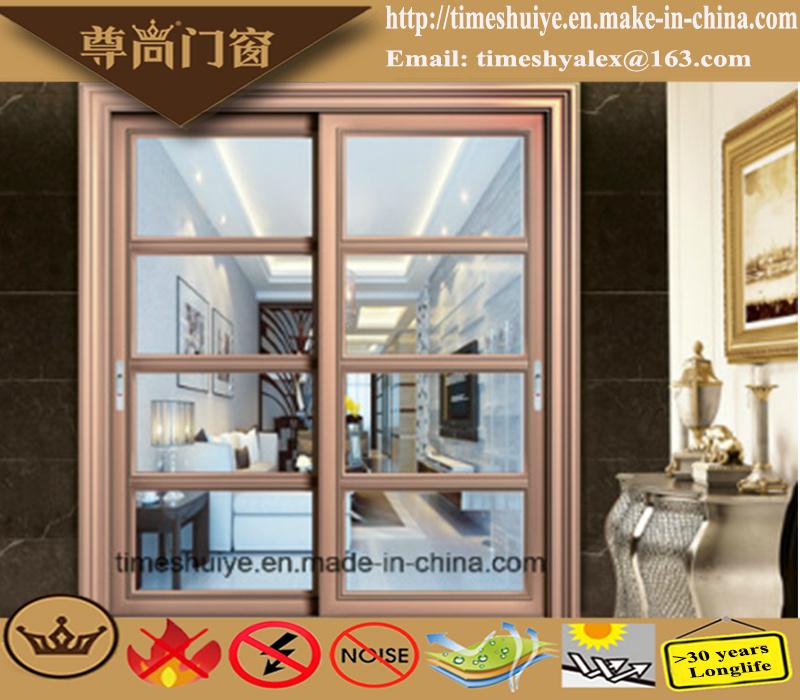 China Factory Aluminum Sliding Doors with Auminium Profile