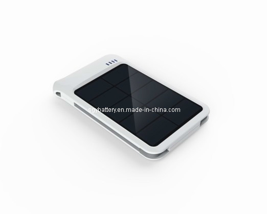 4000mAh Multi-Function Cell Phone Solar Charger Power Bank (SGY62)