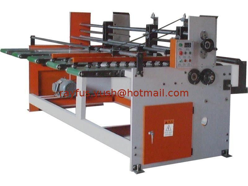 Semi-Auto Flexo Printing Slotting Die-Cutting Machine