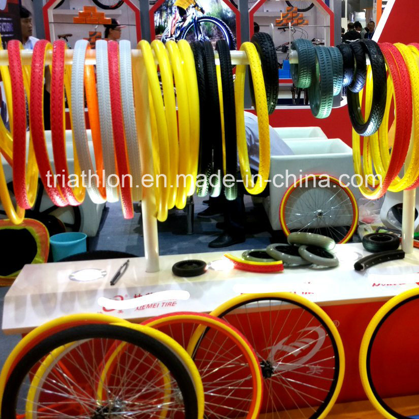 "Bicycle-Sharing TPE TPU TPR Flat Free Tire 20"" 22"" 24"""