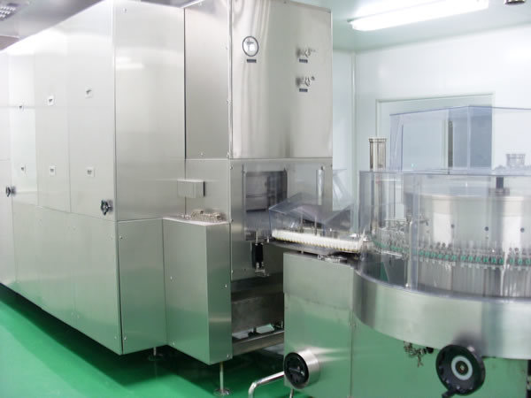 Infusion Solution Filling and Rubber Stoppering Machine