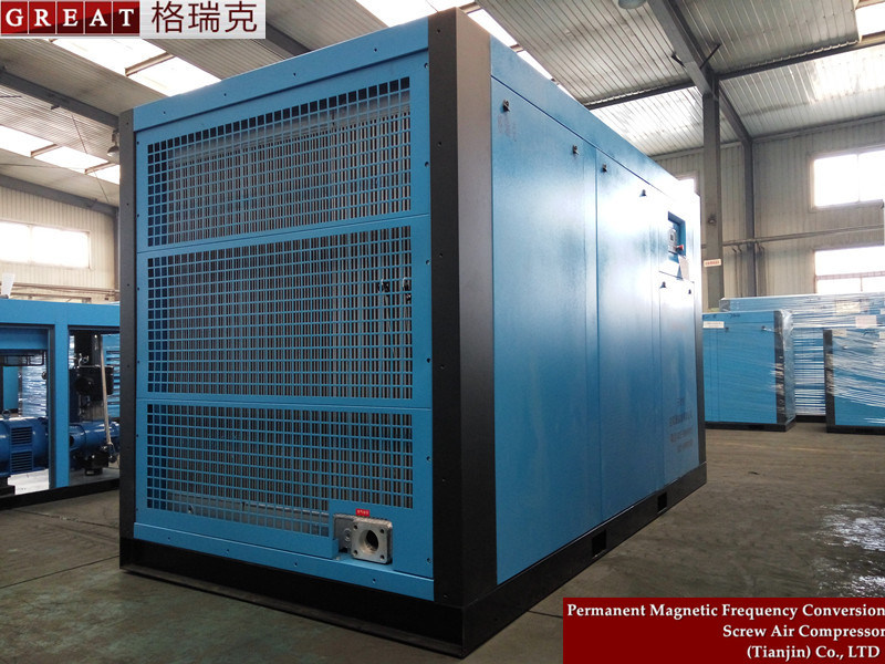 Oil Lubricated Industrial Pressure Rotary Screw Air Compressor