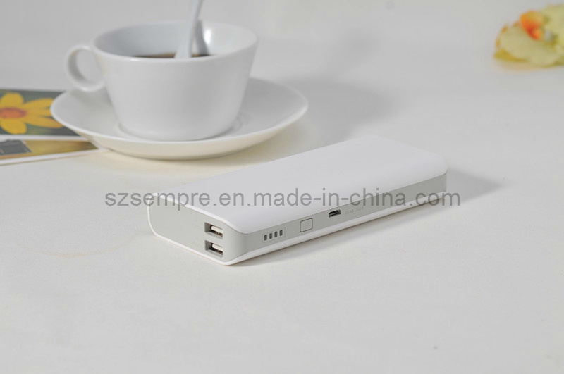 2USB 12000mAh Portable External Battery for Cell Phone, iPhone4/4s/5, Tablet PC
