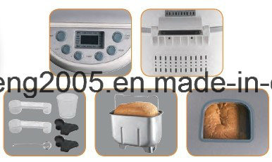 Electric 3-Pound Programmable Bread Maker with Loaf Size 2-3lb, 900-1350g Bread Maker