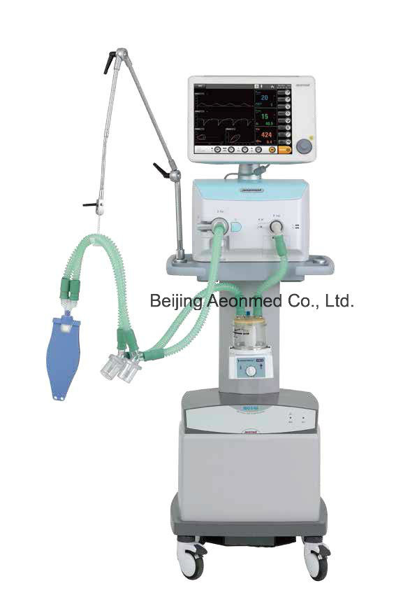 Advanced ICU Ventilator with Air Compressor