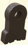 Highly Wear-Resistant Parts 200mm Bimetal Crusher Hammer for Limestone
