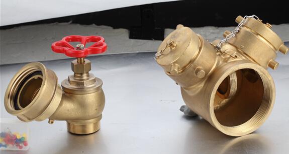 Brass Fire Hydrant Valve, Three Head Fire Hydrant Valve