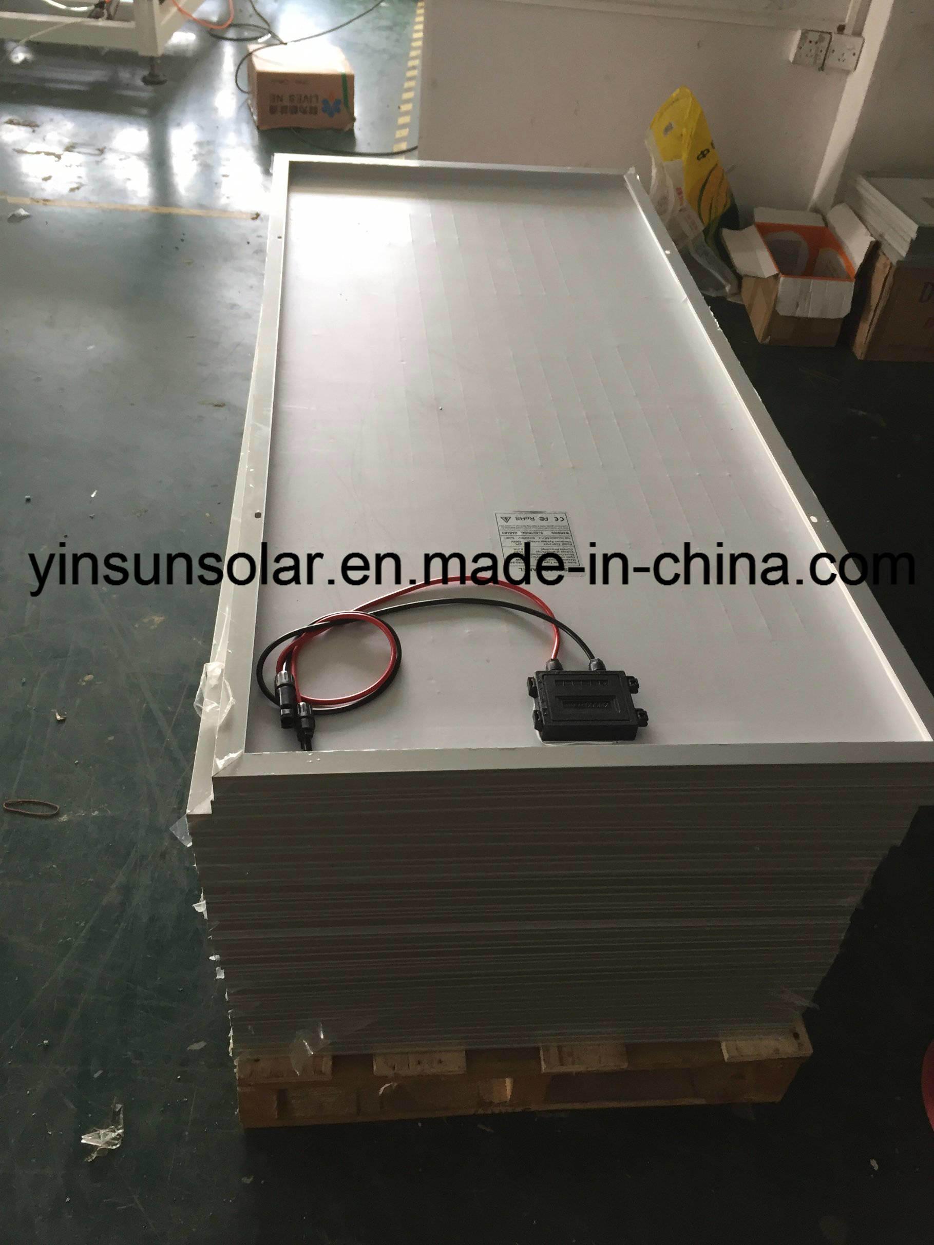 300W Monocrystalline PV Solar Power Flexible Photovoltaic Module Solar Panel