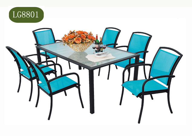Cast Aluminum Rattan Furnitures LG8801