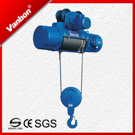 3ton Top Quality CD Type Wire Rope Hoist - Made in Shanghai