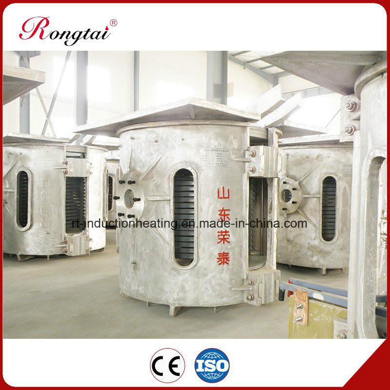 250kg Aluminum Shell Induction Melting Furnace