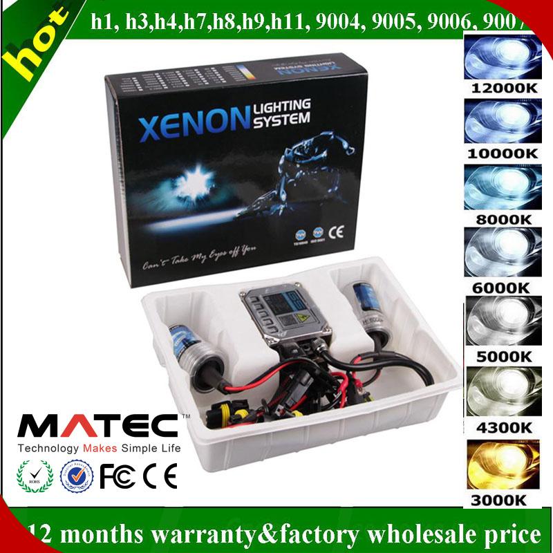 Hot Sales 35W/55W Bi-Xenon HID Xenon Light White/Blue/Yellow