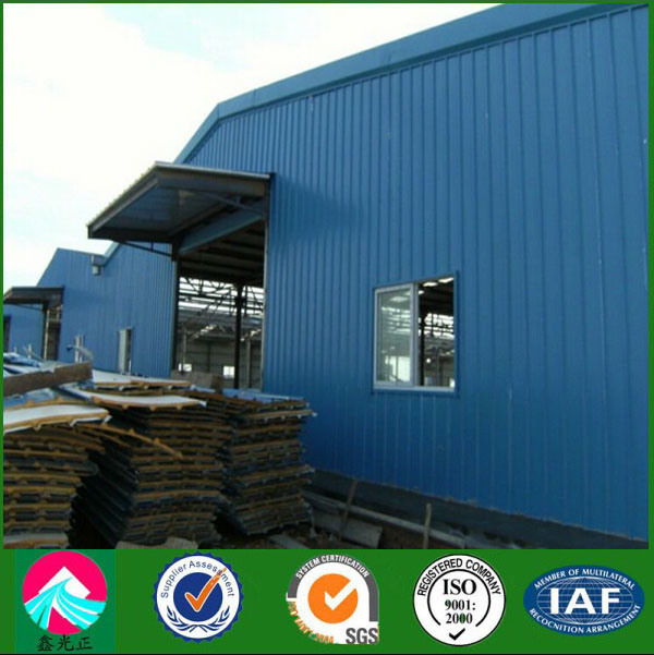 China Supplier Certifacated Steel Structure Warehouse