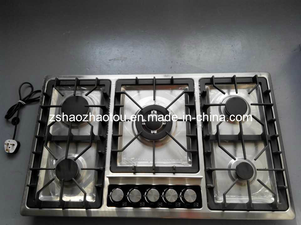 5 Burner Built in Gas Stove