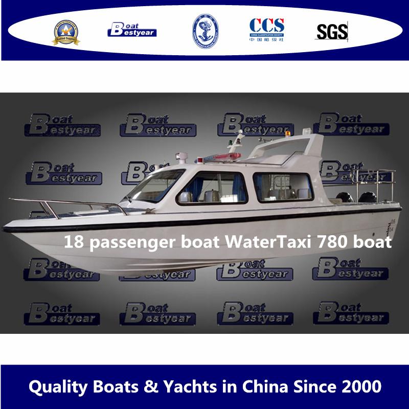 Bestyear 18 Passenger Boat Watertaxi 780 Boat