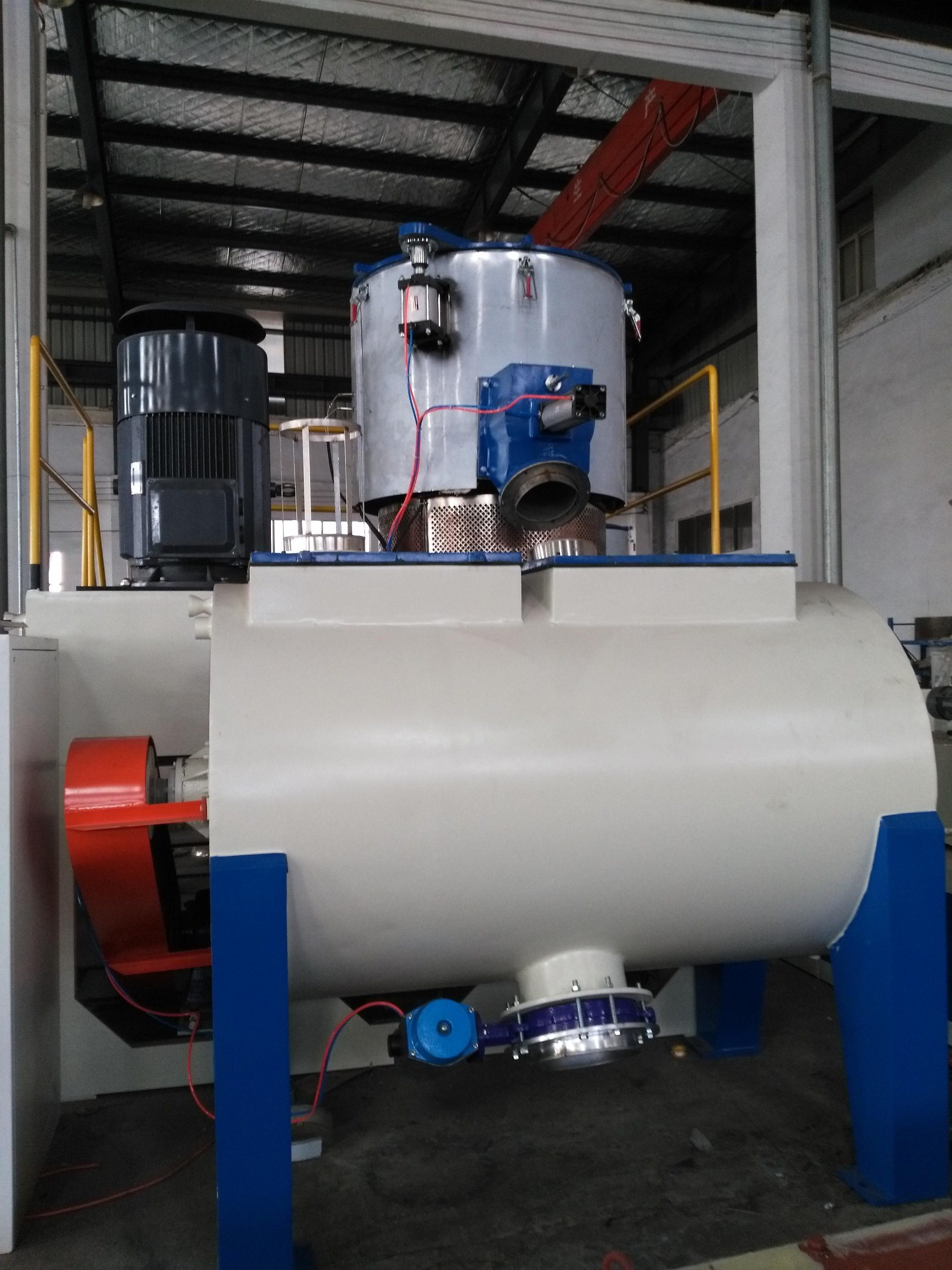 High Speed SRL-W Horizental Mixer for Plastic Extrusion Machinery