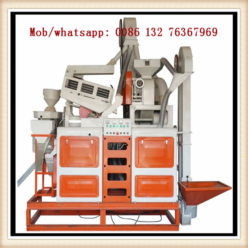 Manufacture of Grain Processing Machinery Rice Mill
