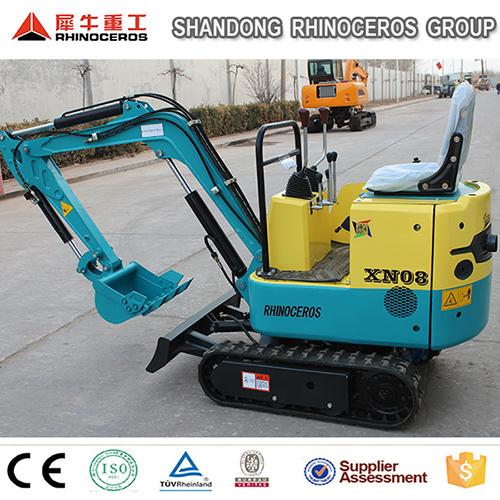 Small Track Excavator Xn08 800kg 0.025 Bucket