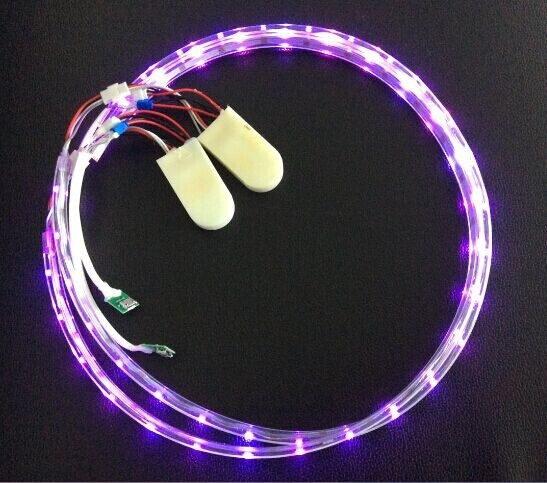 3V 3528 Colorful LED Light, Battery Pack, Controller, USB Cable for LED Shoes, LED Lighting Shoes Solution (XZL-0688)