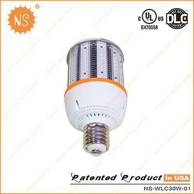 UL Dlc VDE Listed 4500lm IP54 E27 E40 30W LED Corn Light