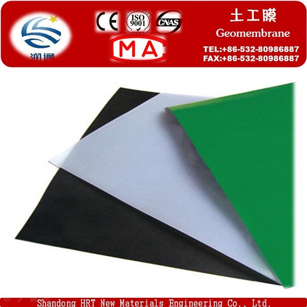 HDPE LDPE Good Quality Hot Sale Geomembrane Waterproof Construction Material