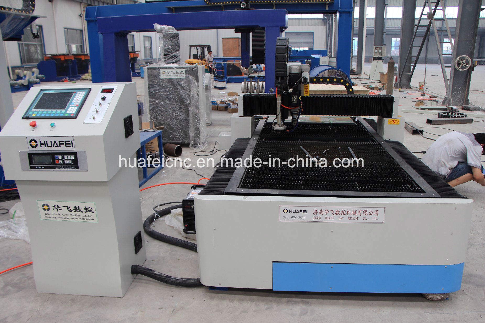 Gantry Type CNC Cuting Machine