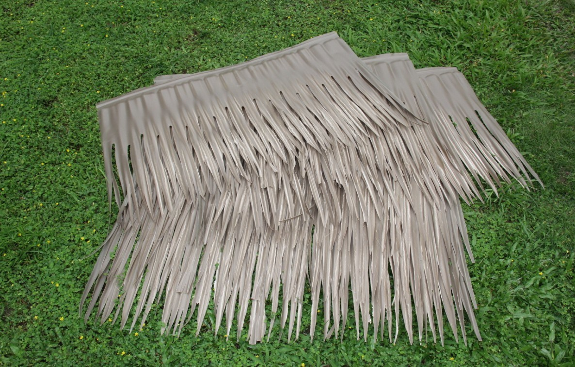 China Synthetic Palm Thatch Roofing Tile Kbmjee6100