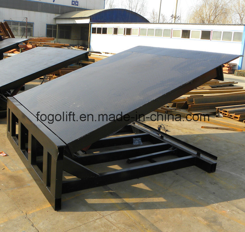 6t Loading and Unloading Fixed Dock Ramp