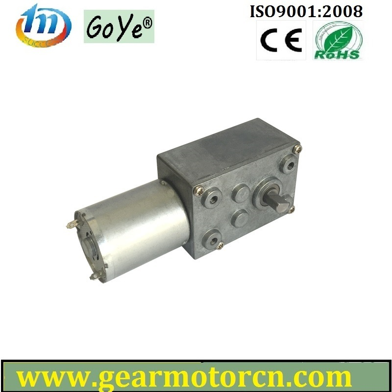 46mm Base Equipment and  Apparatus 6V-24V DC Worm Gear Motor