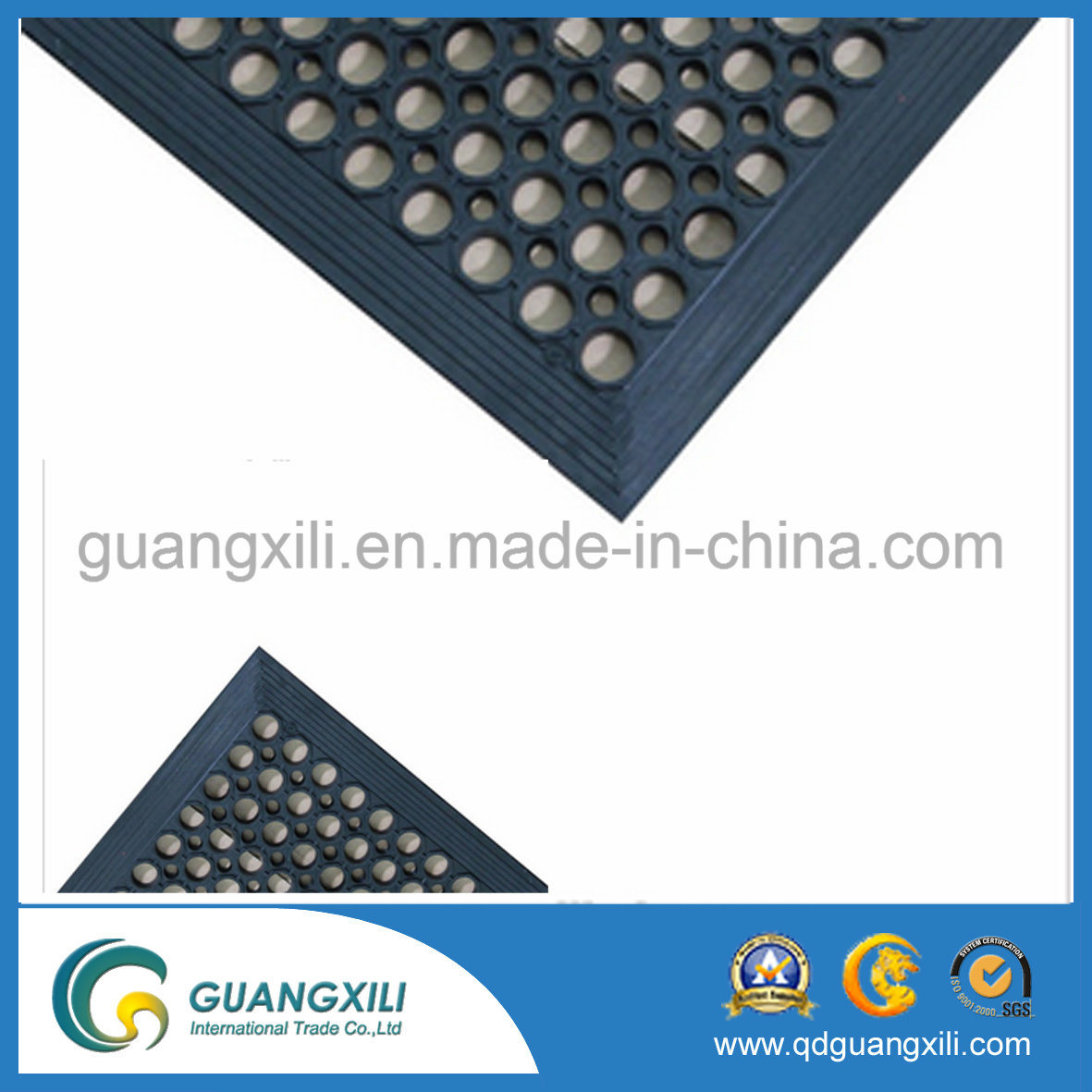 Commercial Garage Kitchen Anti-Fatigue Rubber Floor Mat