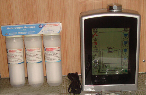 5 Plates Full Touch Screen Water Ionizer (Japan Tech, Taiwan manufacturer) with Built-in Filter
