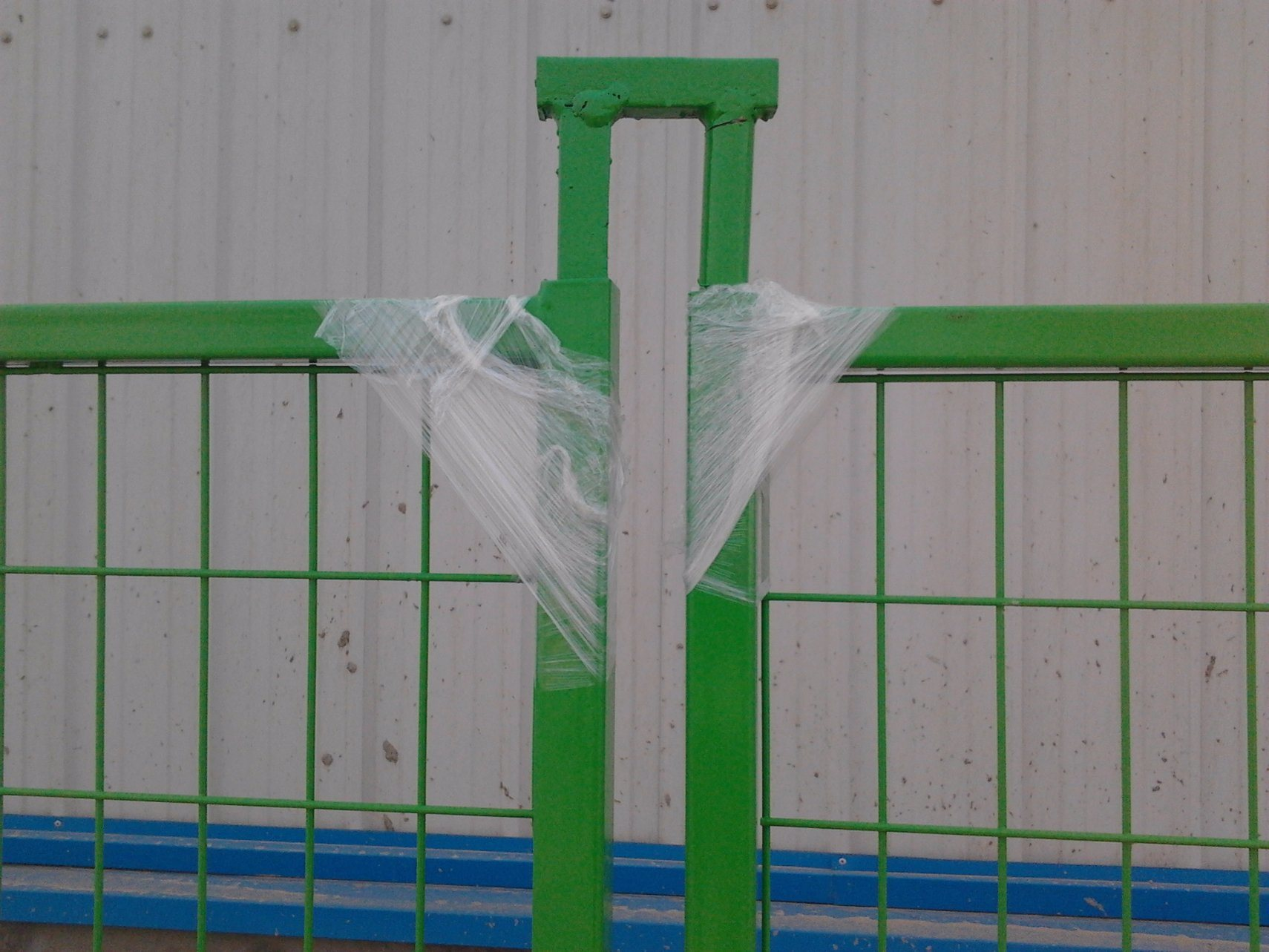 "6FT X 10FT Weld Mesh 2""X2"" Temporary Construction Fence Panels Electrostatic Powder Coated"