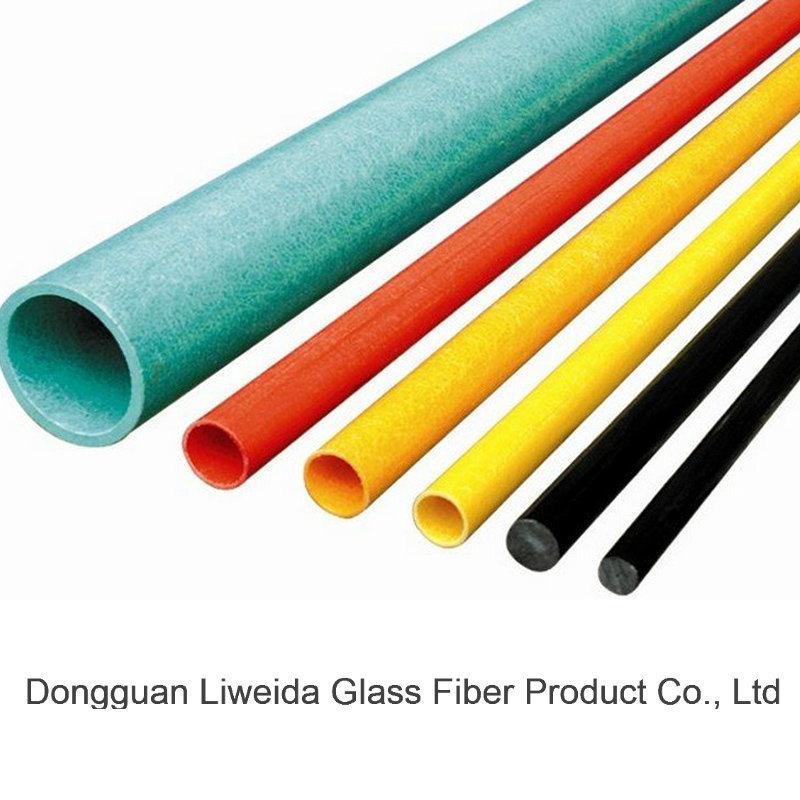 Good Installation Fiberglass Tube, FRP/GRP Stake, FRP Pole/Pipe