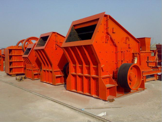 Small Type PF-80 Impact Crusher From China for Construction Industry