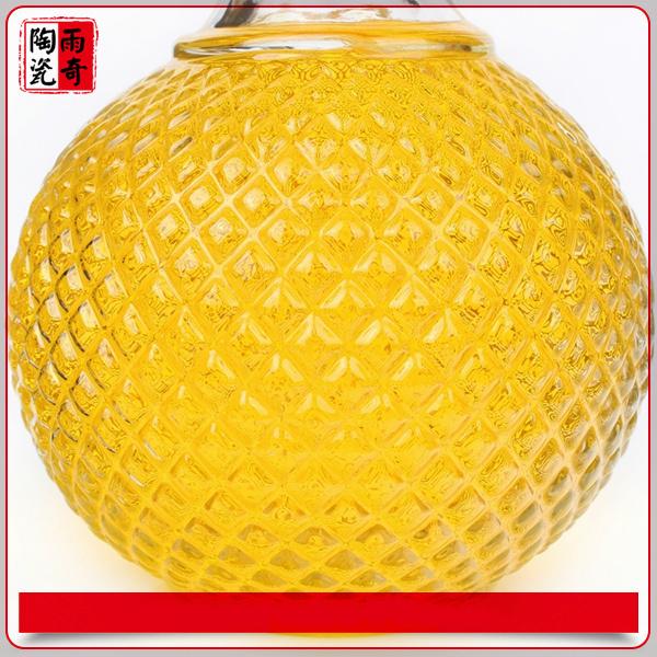 750ml 1000ml Glass Wine Bottle Crystal Glass Bottle for Spirits, Whiskey, Liquor