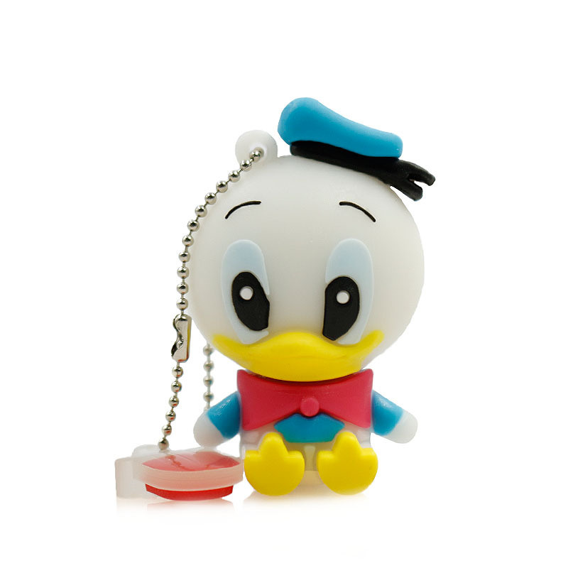 USB Flash Drive 64G Pendrive 4G 8g 16g 32g Flash Drive New Style Cute Cartoon Duck USB Stick USB2.0 Memoria USB