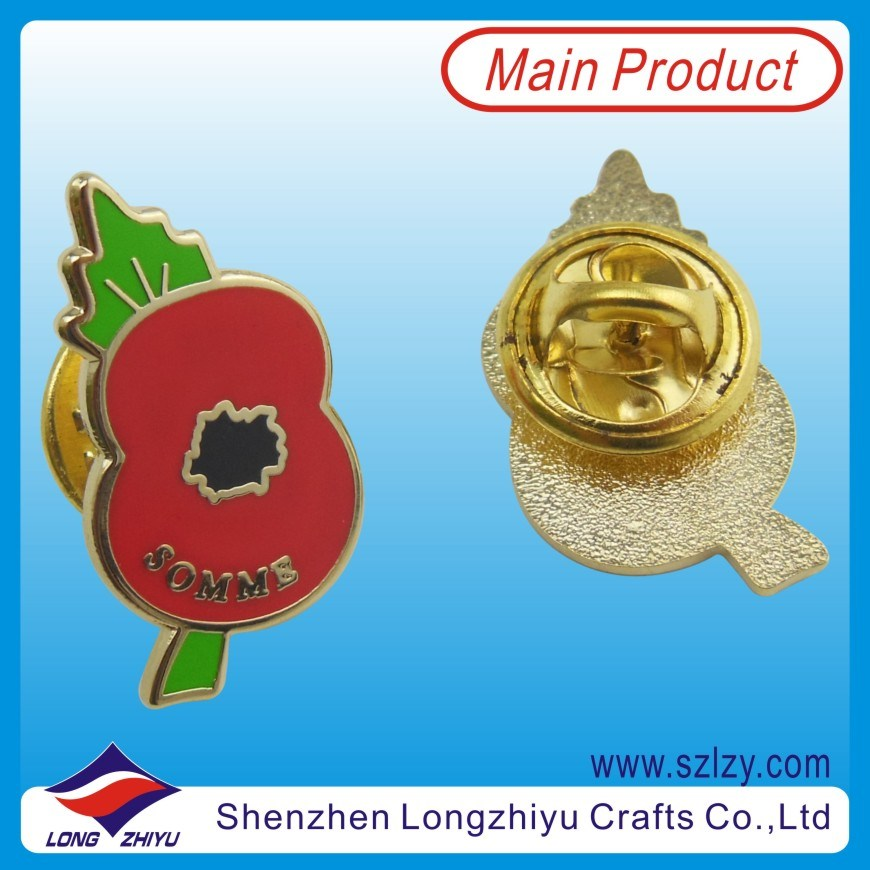 Fashion Hard Imitation Enamel Cloisonne Badge Pin (LZY-10000139)