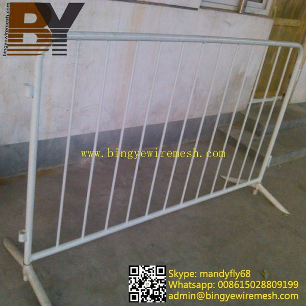 Removable Sport Traffic Pedestrian safety Crowd Control Barrier