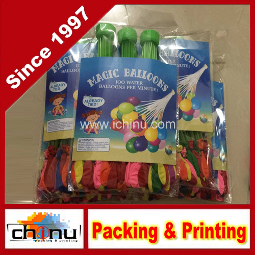 Water Balloons Bunch O Balloons 111 Balloons Per Minute Paint Balloons Gift for Children (420002)