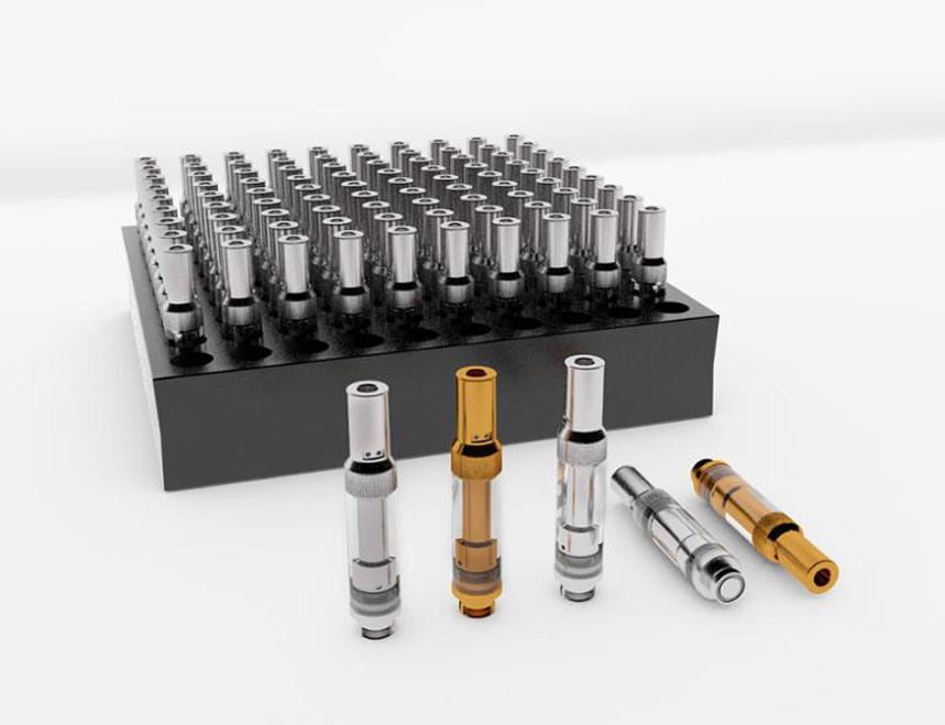 Adjust Airflow Glass Vaporizer Pen Cartridges