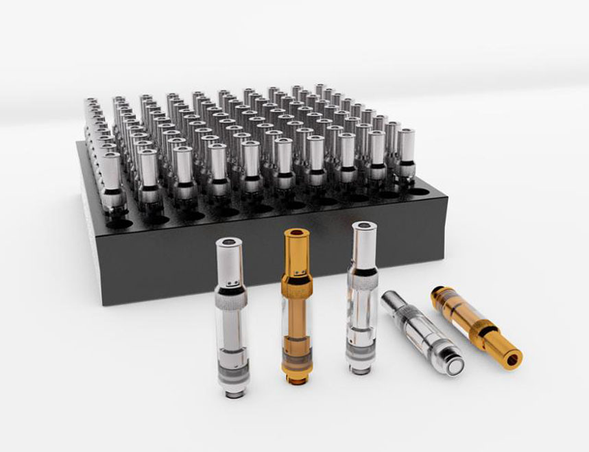 Higt Quality Top Filling Tip Adjust Airflow 0.5ml Glass Cbd Tank Cbd Oil Cartridge