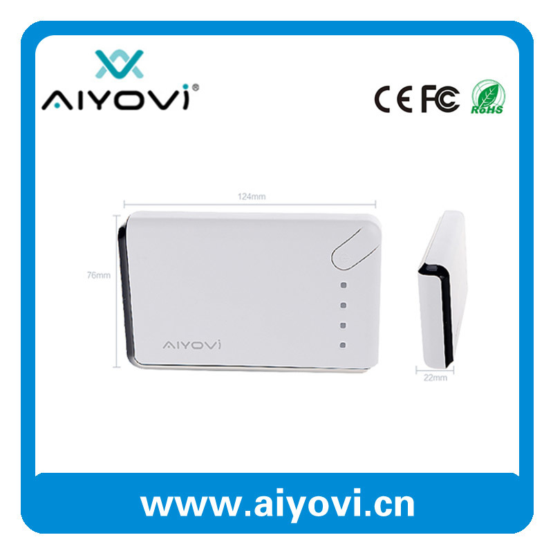 High Capacity 10000 mAh Power Bank for Mobile Phone