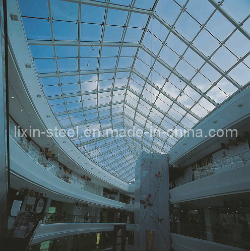 china steel light roof structure for building skylight photos