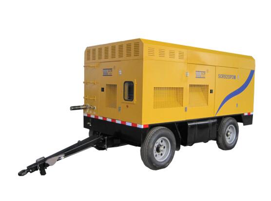 Diesel Engine Portable / Mobile Screw Air Compressor (SCR460PD)