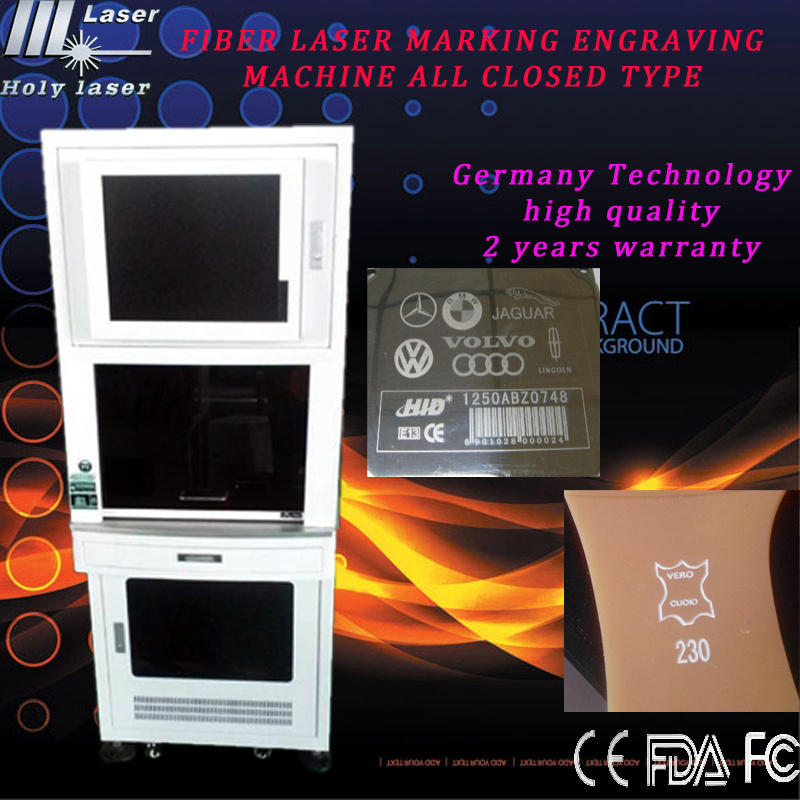 CNC Fiber Laser Marking Machine, Laser Engraving Machine for Metal and Nonmetal
