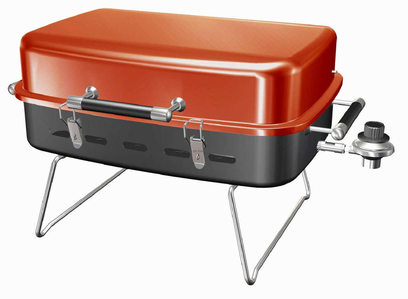 Portable Gas Bbq Grills : Tabletop gas bbq grills backyard grill review weber q