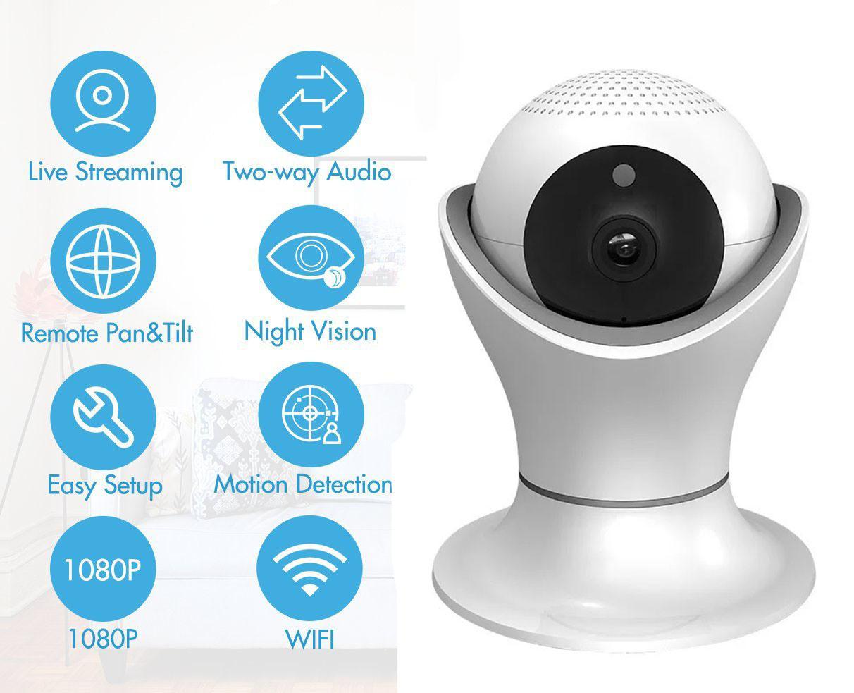 Shenzhen Factory Cheap Wireless Security Camera High Resolution 1080P WiFi IP Camera