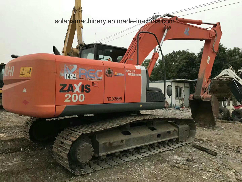 Used Hitachi Zx200 Crawler Excavator Hit...